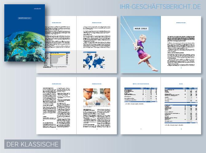 Unser Agentur-Team in Köln erstellt, layoutet und entwickelt für Sie klassische aber dennoch attraktive und lesenswerte Jahres- und Geschäftsberichte bzw. Annual Reports (engl.)