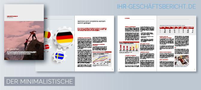Unser Kölner Agentur-Team erstellt attraktive und lesenswerte Geschäftsberichte bzw. Annual Reports (engl.) … auch ganz einfach aufgebaute