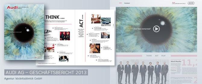 AUDI AG – Geschäftsbericht 2013