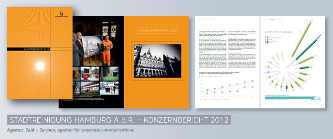 Stadtreinigung Hamburg – Konzernbericht 2012