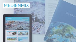 Medienmix-Geschäftsberichte mit Print, PDF und Online