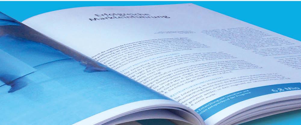 Erstelllung von Jahresberichten und Geschäftsberichten im modernen und attraktiven Design